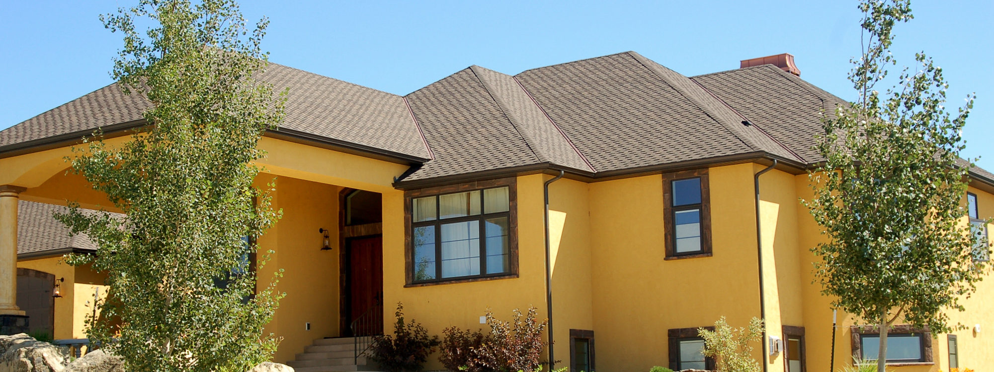Montana wall finishes plaster dryvit stone texteriors - Exterior wall finishes for homes ...