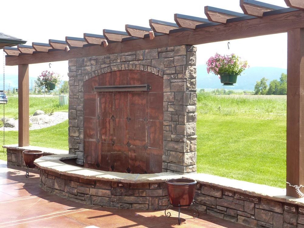Coronado Stone Country Castle Dakota Brown